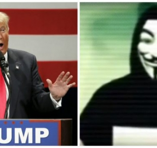 Hackers do Anonymous declaram guerra a Donald Trump