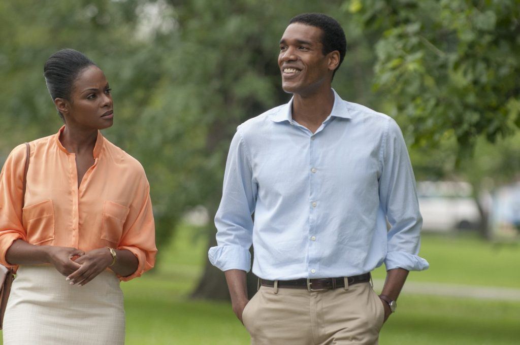 Michelle e Barack Obama no filme 'Southside With You', que retrata o primeiro encontro dos dois
